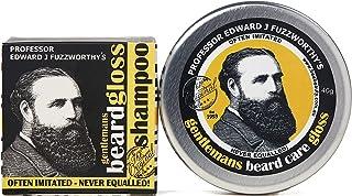 Beard Care Kit Professor Fuzzworthy Beard Care Conditioner Balm & Best Beard Shampoo Bar | 100% Natural Chemical Free | Or...
