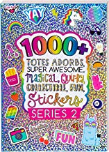 Fashion Angels 1000+ Totes Adorbs Colorful Stickers for Kids - Fun Craft Stickers for Scrapbooks, Planners, Gifts and Rewa...