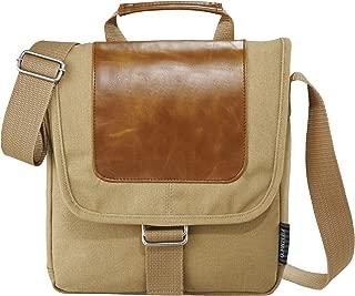 Field & Co. Cambridge Tablet Messenger Bag (UK Size: 24.7 x 5.7 x 26.1cm) (Beige)