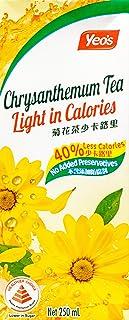 Yeo's Chrysanthemum Tea Light, 250ml (Pack of 6)