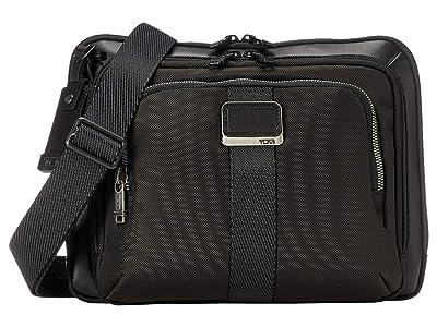 Tumi Alpha Bravo Jackson Crossbody (Black) Bags