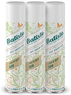 Batiste Dry Shampoo, Bare, 6.73 Fl. Oz (Pack of 3)