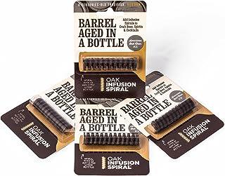 4 Pack-Barrel Aged in a Bottle Oak Infusion Spiral-Barrel Age Whiskey, Rum, Wine