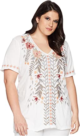 Plus Size Katrina Everyday Tee