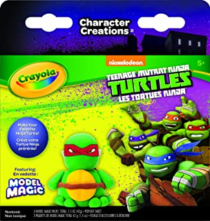 Crayola Teenage Mutant Ninja Turtles Model Magic Character Creations Art Kit