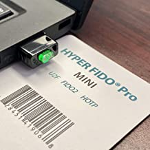 HYPERFIDO Pro Mini U2F/FIDO2/HOTP Llave de Seguridad