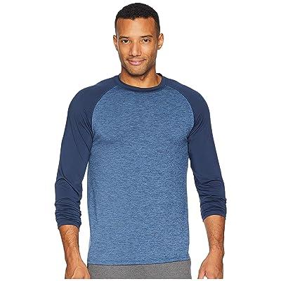 Jockey Cool-Sleep Sueded Jersey Top (Open Blue) Men