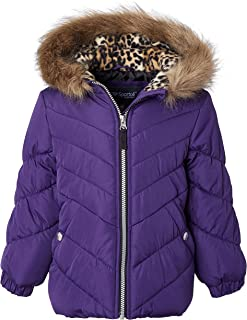 Digirlsor Toddler Kids Girls Winter Parka Coats Long Padded Lightweight Down Jacket Outerwear 3-14 Years