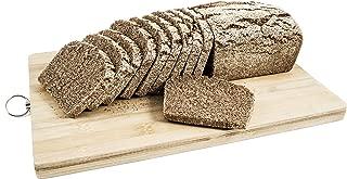 Pan ecológico artesanal con masa madre en horno de leña.