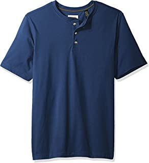 Authentics Men's Short Sleeve Henley Tee