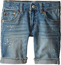 Levi's® Kids - 511 Cuffed Cut Off Shorts (Little Kids)