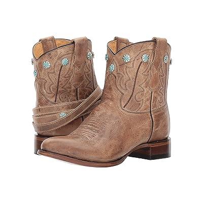Roper Wanda (Tan Leather) Cowboy Boots