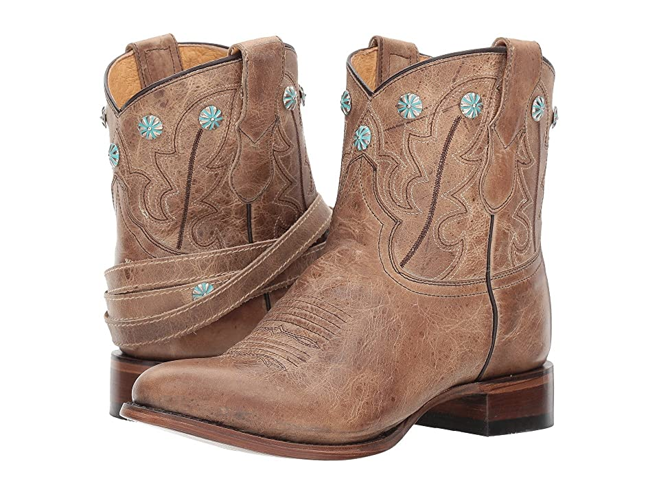 Roper Wanda (Tan Leather) Cowboy Boots