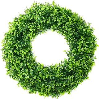 Best boxwood wreath front door Reviews