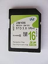 2M105 2013 2014 2015 2016 Hyundai GENESIS COUPE Navigation MAP Sd Card ,GPS UPDATE , U.S.A OEM PART # 96554-2M105 STD 3X USA