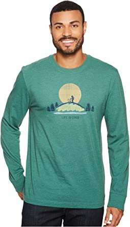Life is Good - Hike Vista Long Sleeve Crusher Tee