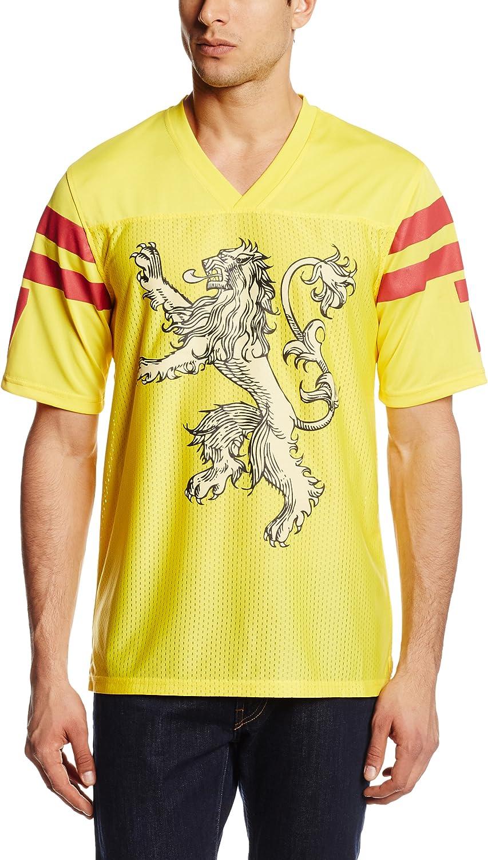 HBO'S Game of Thrones Men's Got Lannister Football Jersey T-Shirt