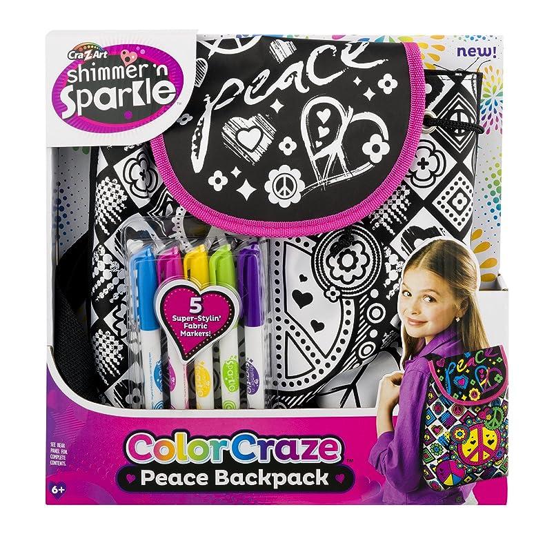 Cra-Z-Art Color Craze Peace Backpack bfoilyos427587