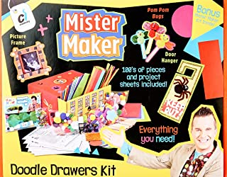 Mister Maker 88801 Doodle Drawers Bumper Craft Kit