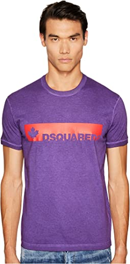DSQUARED2 - Fade Dyed Dan T-Shirt