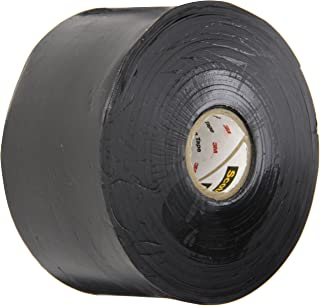 Scotch(R) Linerless Rubber Splicing Tape 130C, 2 in x 30 ft, Black