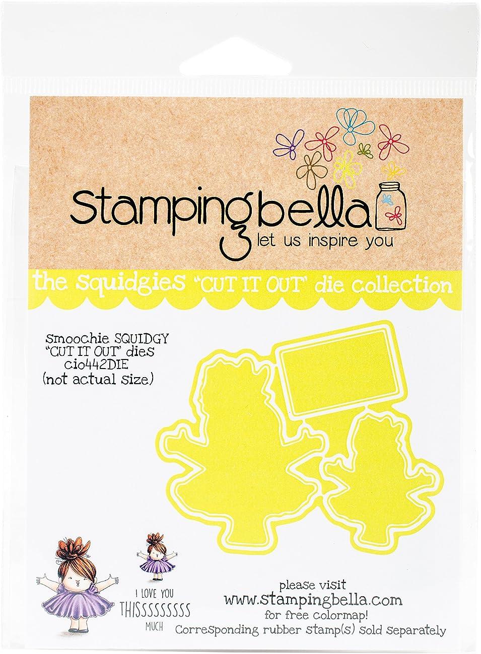 Stamping Bella CIO442DIE Cut It Out Dies-Smoochie Squidgy