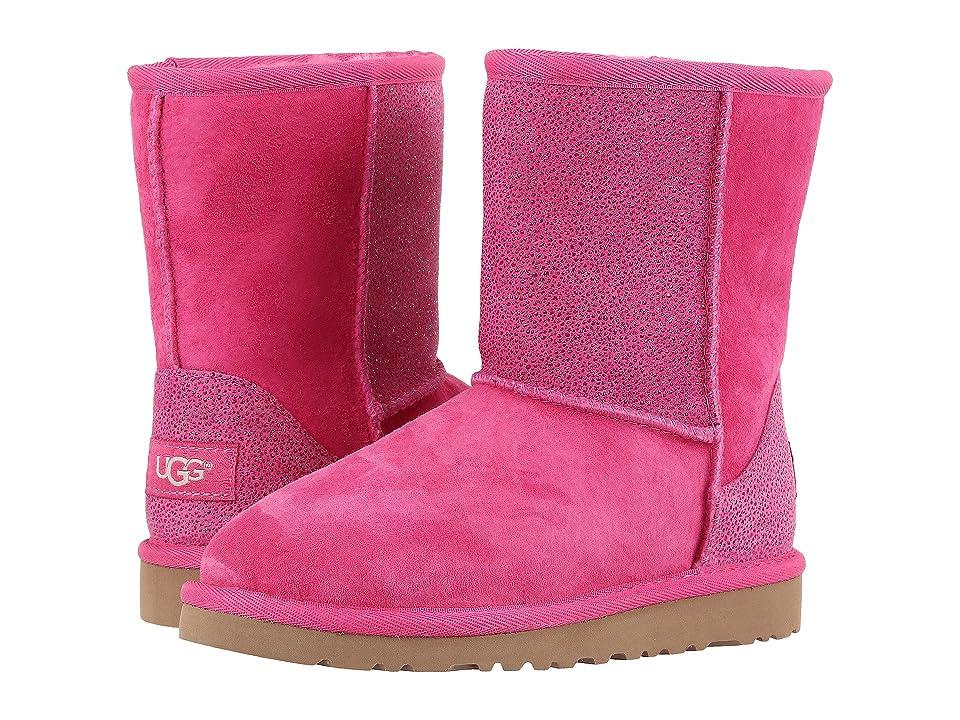 UGG Kids Classic Short Serein (Little Kid/Big Kid) (Diva Pink) Girls Shoes