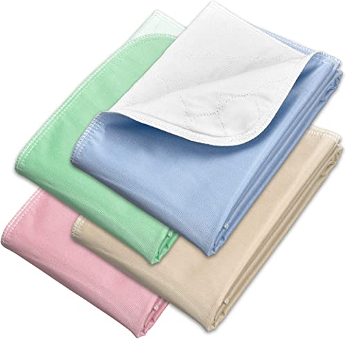 Incontinence Bed Pads - Reusable Waterproof Underpad Chair, Sofa and Mattress Protectors - Highly Absorbent, Machine ...