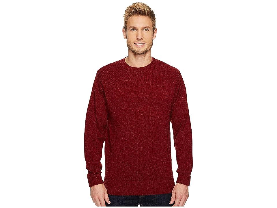 Pendleton Shetland Crew Sweater (Scarlet Red) Men