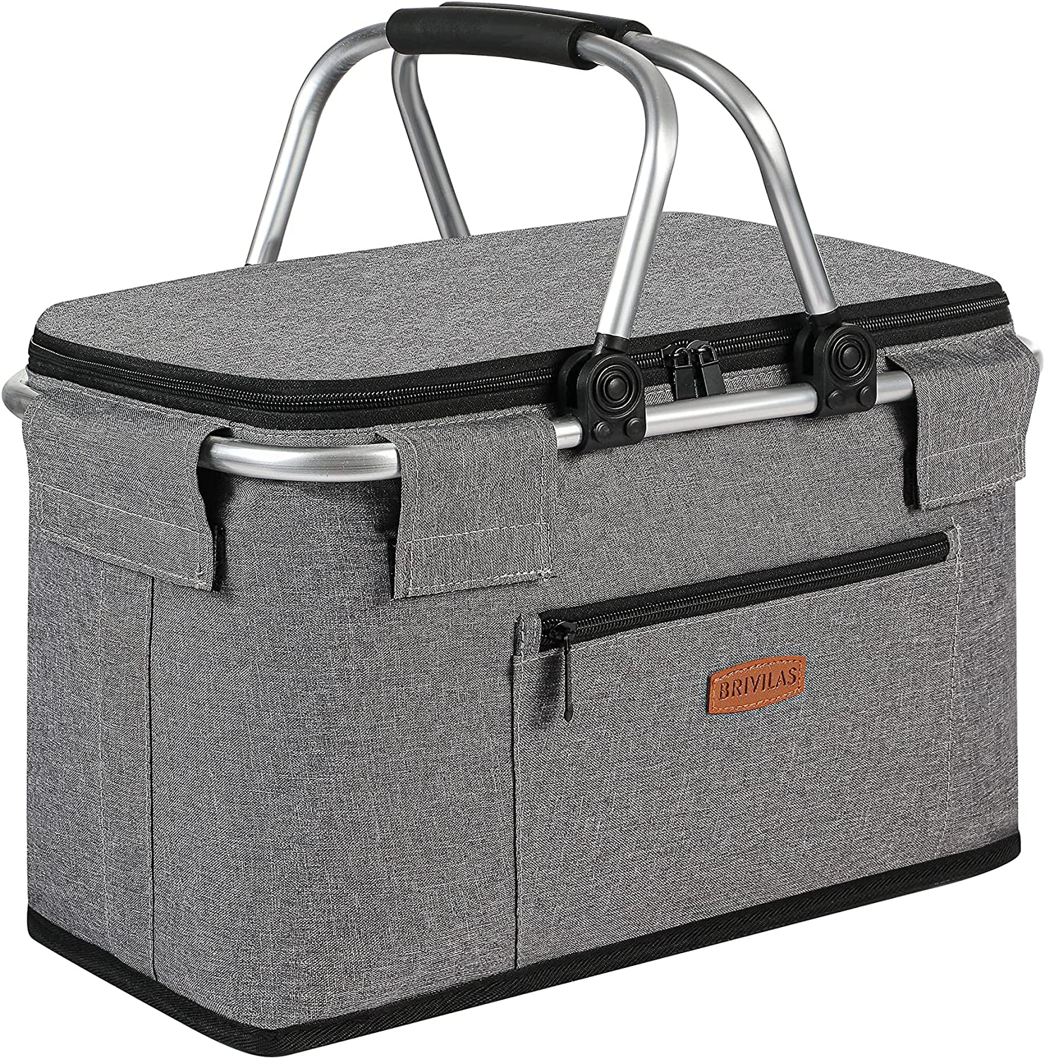 [Alternative dealer] 22L Leakproof Brivilas Insulated Cool Baskets-Collapsible Ranking TOP2 Picnic
