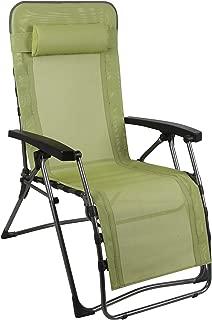 westfield 户外可折叠零重力躺椅电脑椅,带可拆卸枕头