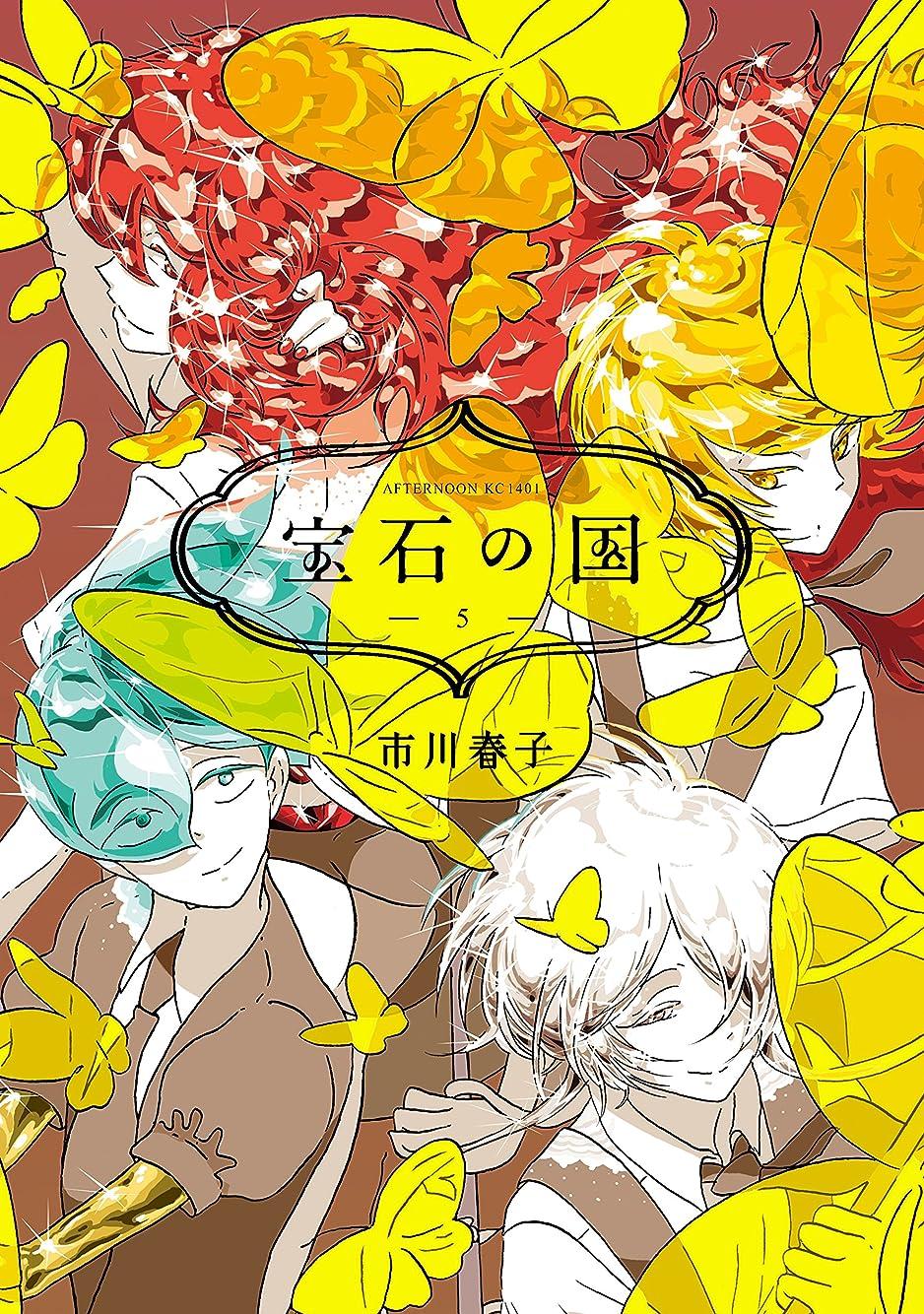苦悩主観的覚醒宝石の国(5) (アフタヌーンコミックス)