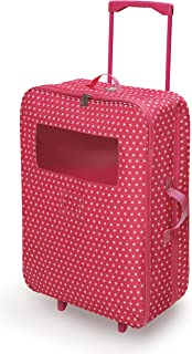 Badger Basket Double Trolley Doll Carrier with Two Sleeping Bags (fits American Girl Dolls), Star