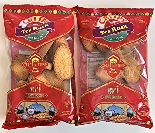 Crispy Tea Rusk - Chai Time 200g - Pack of 2. FREE 2-DAY DELIVERY