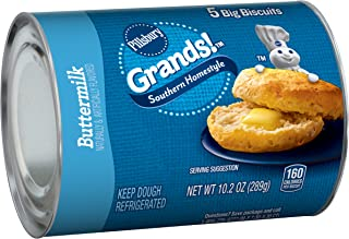 Pillsbury Grands!, Southern Homestyle, Buttermilk, 5 Biscuits, 10 oz. Can