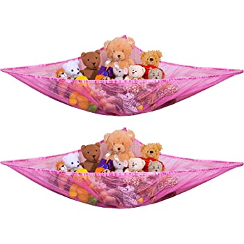 Lillys Love Stuffed Animal Storage Hammock Large Pack 2 STUFFIE PARTY HAMMOCK Large by Lilly/'s Love ToyN2PAC