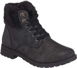 Best black lace up snow boots Reviews