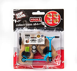 Grips & Tricks Finger Scooter Stunt Pack 1 (Blue)