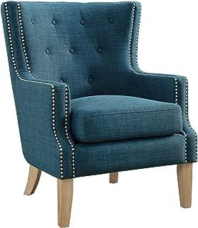 Dorel Living Otto Accent Chair, Blue