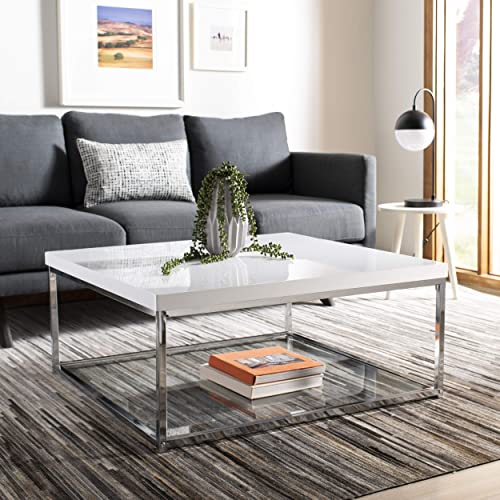 Square Glass Coffee Table Amazon Com