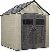 Rubbermaid Storage Shed, 7x10.5 Feet 7x7 2084365