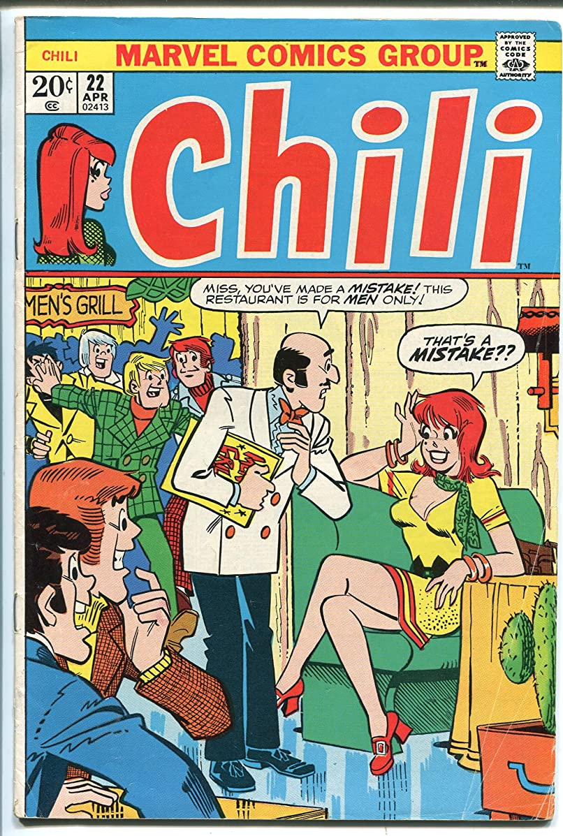 CHILI #22 1973-MARVEL-MILLIE THE MODEL-FASHIONS-GOOD GIRL ART-vg