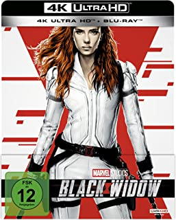 Black Widow 4K UHD Edition (Steelbook) [Blu-ray]