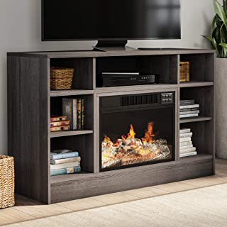 Lavish Home 80-FPWF-7 Heat Electric Fireplace Stand-for TVs up to 47