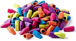 StarMar Set of 150 – Pencil Top Eraser Caps,for Kids, Bulk, Assorted Colors