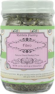 Rabbits Pantry - Fibro Herbal Loose Leaf Tea - NON GMO - Helps with Fibromyalgia Symptoms - Blended with Skullcap, Feverfew, and Peppermint Leaf