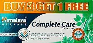 Himalaya Complete Care Toothpaste - 80 g (Buy 3 Get 1)