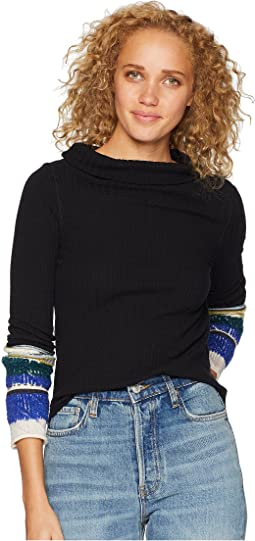 Mixed Up Cuff Top