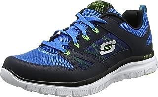 Skechers 斯凯奇 男士休闲运动鞋 Flex Advatage系列 牛津系带网布面 舒适运动鞋 Flex Advantage