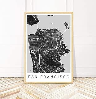 Best san francisco map poster Reviews